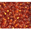 Seedbead 2/0 Silver Lined Transparent Orange